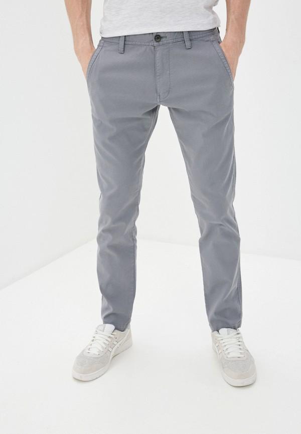 мужские прямые брюки s.oliver, серые