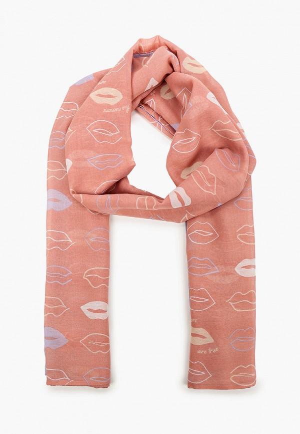 женский палантин s.oliver, розовый