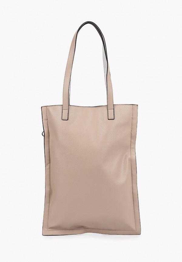 женская сумка с ручками s.oliver, бежевая