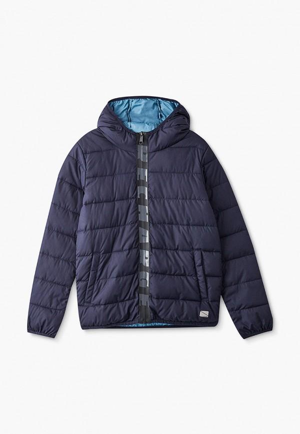 утепленные куртка s.oliver для мальчика, синяя
