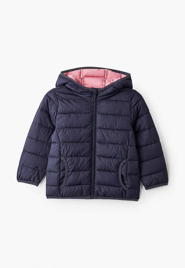 утепленные куртка s.oliver для девочки, синяя