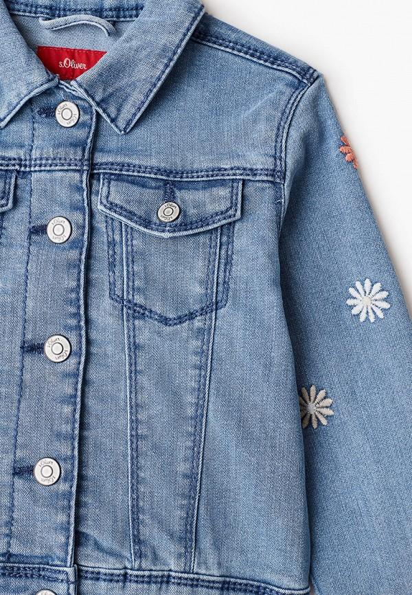 Куртка для девочки джинсовая s.Oliver 403.10.102.26.150.2058889 Фото 3