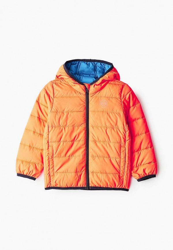утепленные куртка s.oliver для мальчика, оранжевая