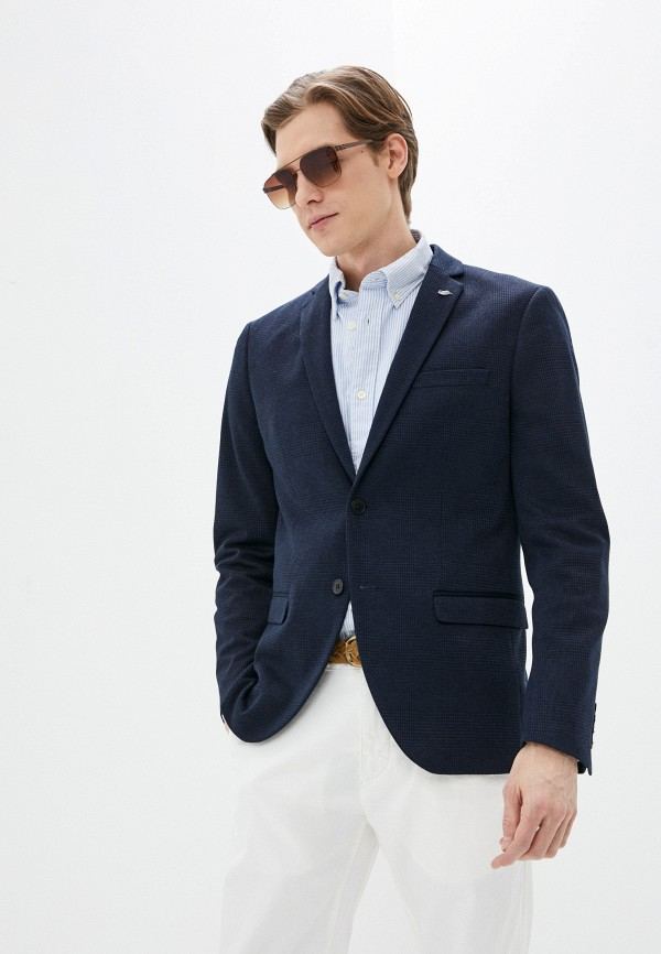 мужской пиджак selected homme, синий