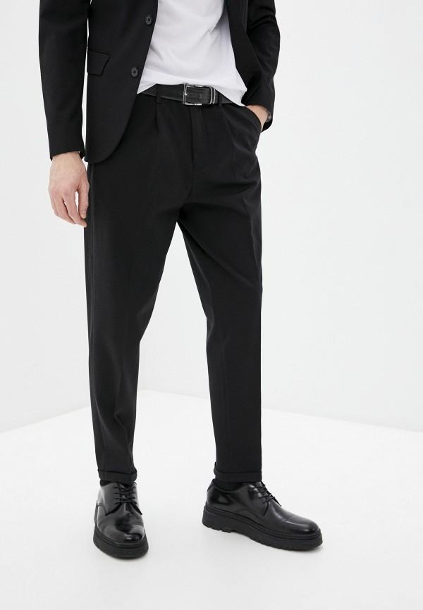 мужские классические брюки selected homme, черные