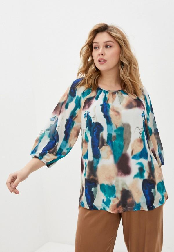 женская блузка zizzi, разноцветная