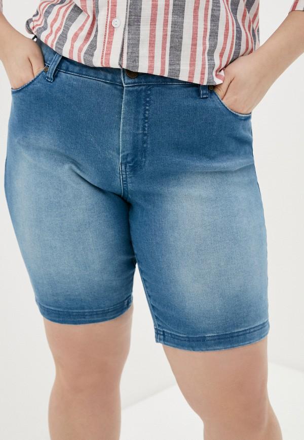 женские джинсовые шорты zizzi, голубые