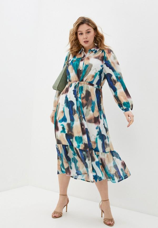 женское повседневные платье zizzi, разноцветное
