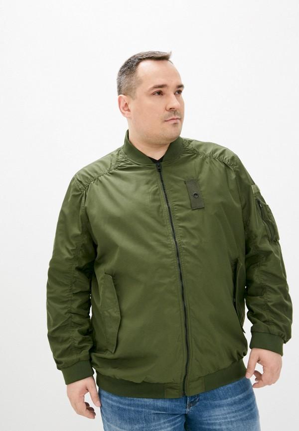 мужская куртка jack & jones, зеленая