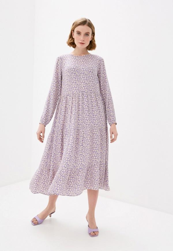 женское повседневные платье pieces, разноцветное