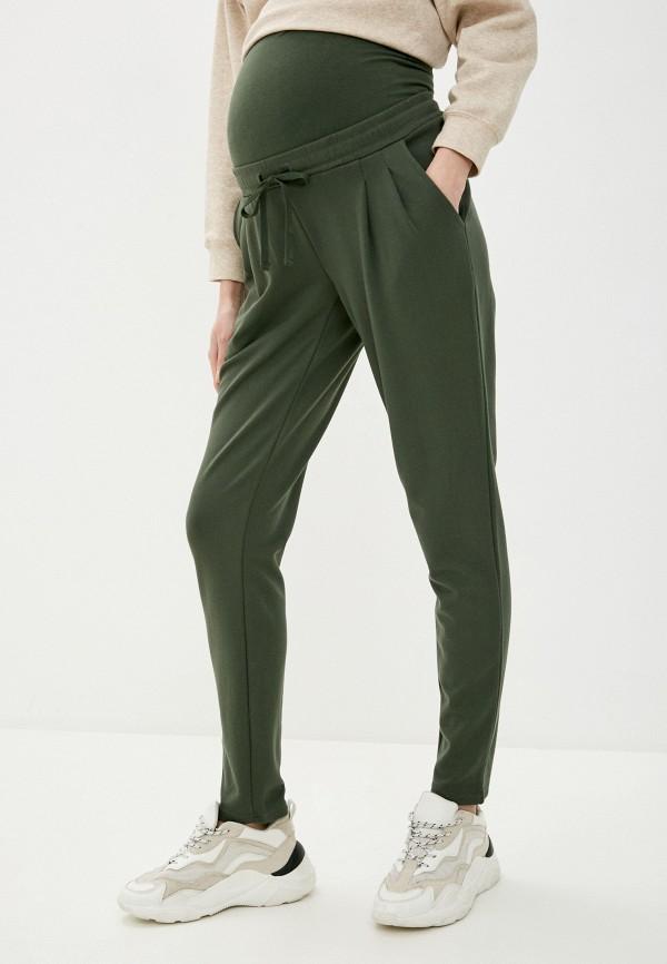 женские спортивные брюки mamalicious, хаки