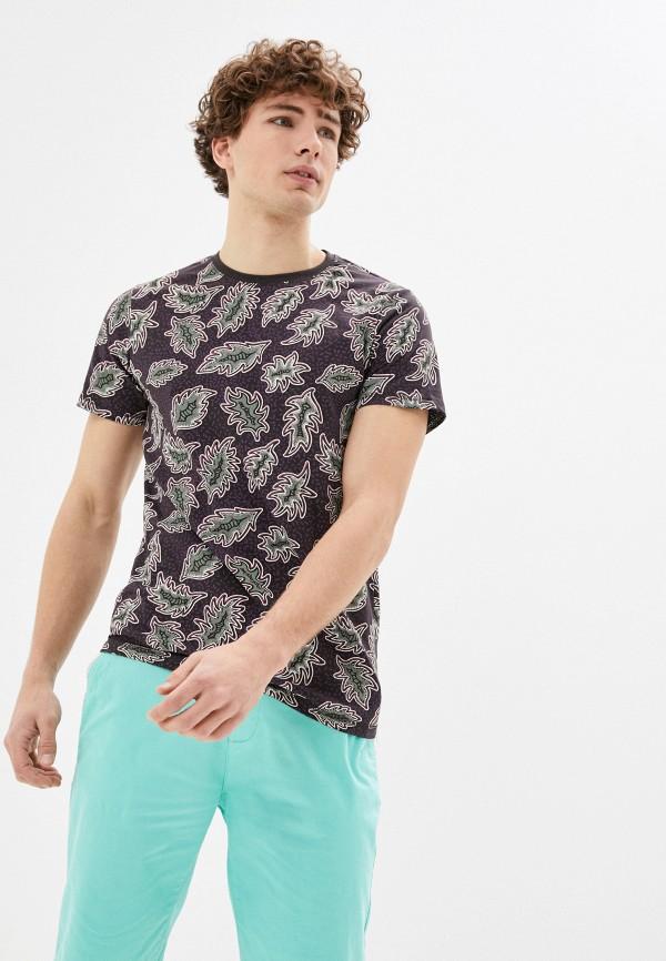 мужская футболка с коротким рукавом bruebeck, разноцветная