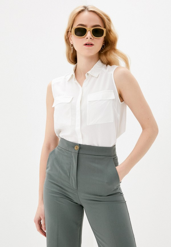 женская блузка bruebeck, белая