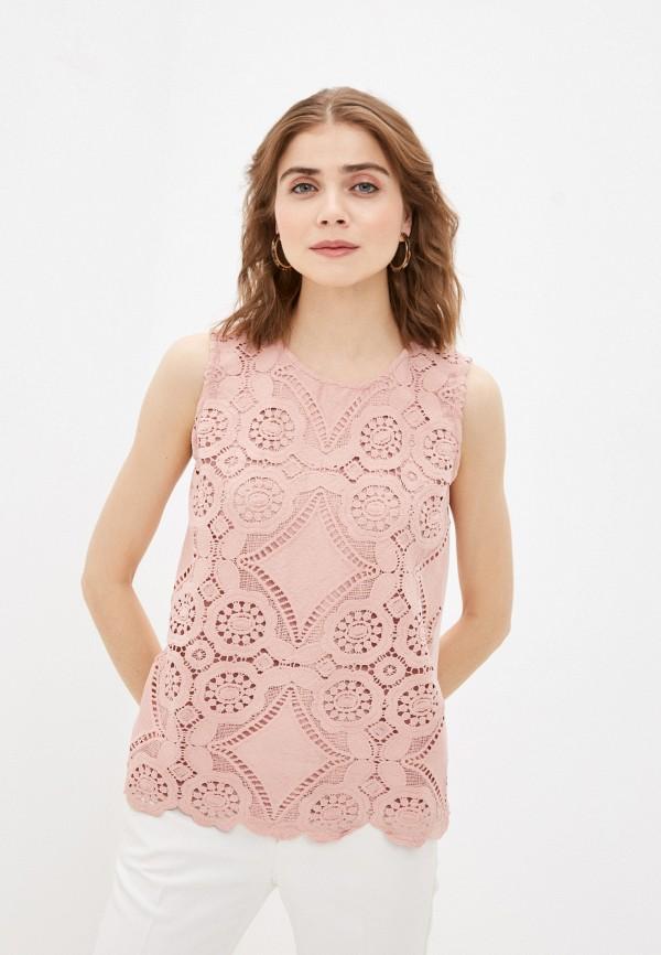 женский топ bruebeck, розовый