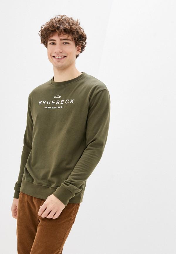 мужской свитшот bruebeck, хаки