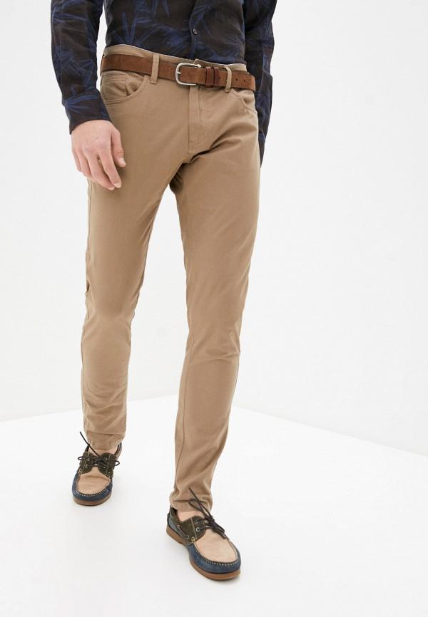мужские повседневные брюки bruebeck, бежевые