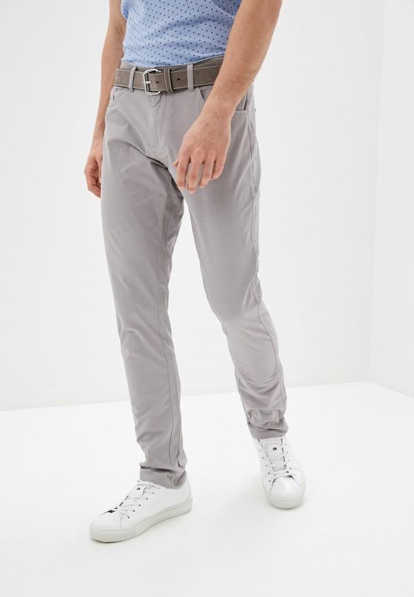 мужские брюки bruebeck, серые
