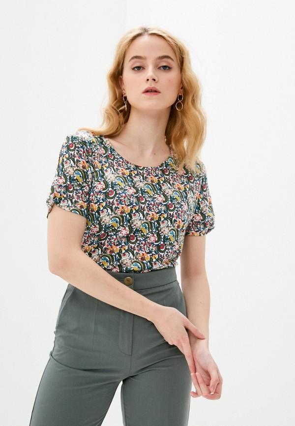 женская блузка bruebeck, разноцветная