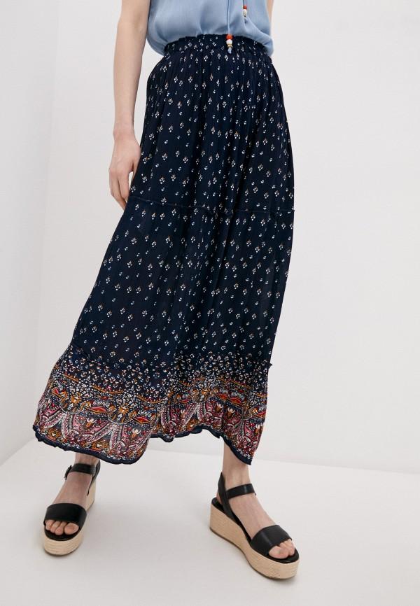 женская юбка bruebeck, синяя