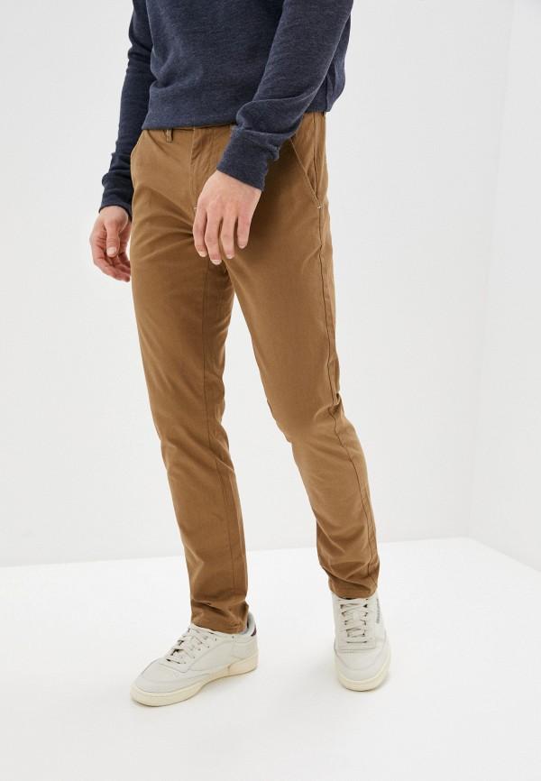 мужские брюки чинос bruebeck, коричневые