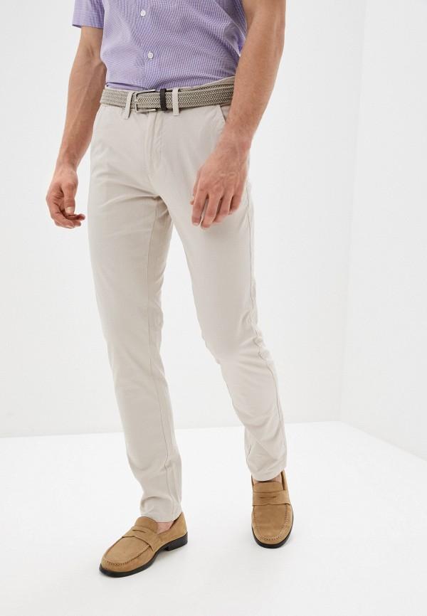 мужские брюки чинос bruebeck, бежевые