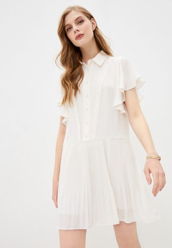 женское платье twinset milano, белое