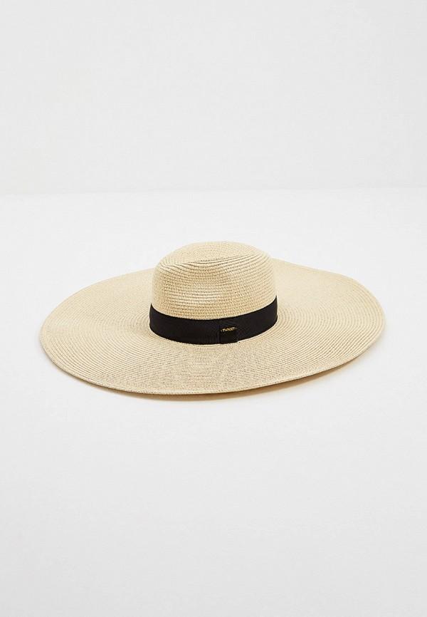 женская шляпа twinset milano, бежевая
