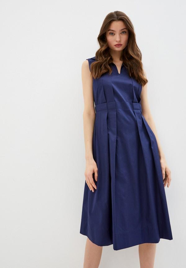 женское повседневные платье marni, синее