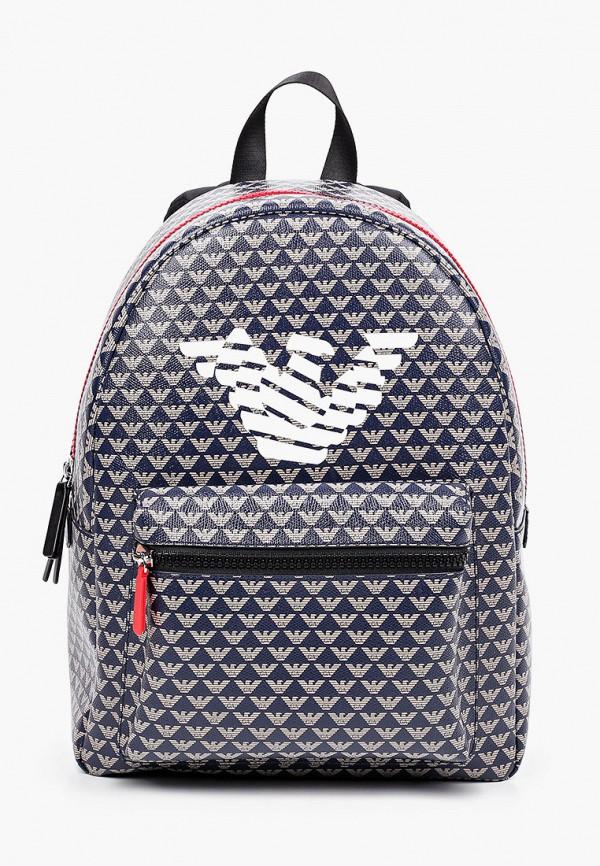 рюкзак emporio armani для мальчика, синий