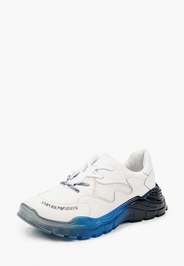 Кроссовки для девочки Emporio Armani XYX008 XOI45 Фото 2