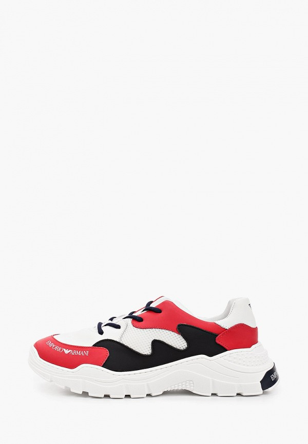 Кроссовки для девочки Emporio Armani XYX008 XOI46