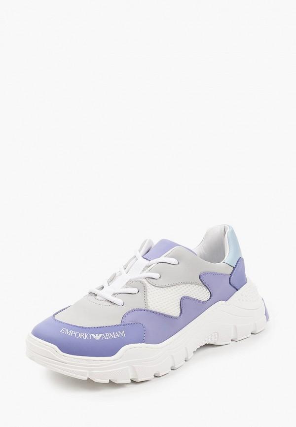 Кроссовки для девочки Emporio Armani XYX008 XOI46 Фото 2