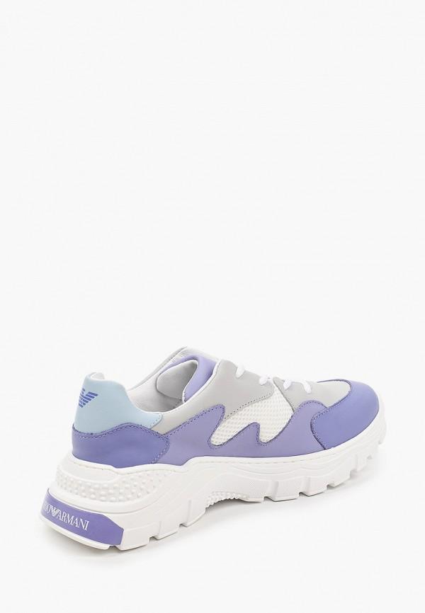 Кроссовки для девочки Emporio Armani XYX008 XOI46 Фото 3