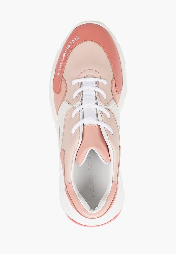Кроссовки для девочки Emporio Armani XYX008 XOI46 Фото 4