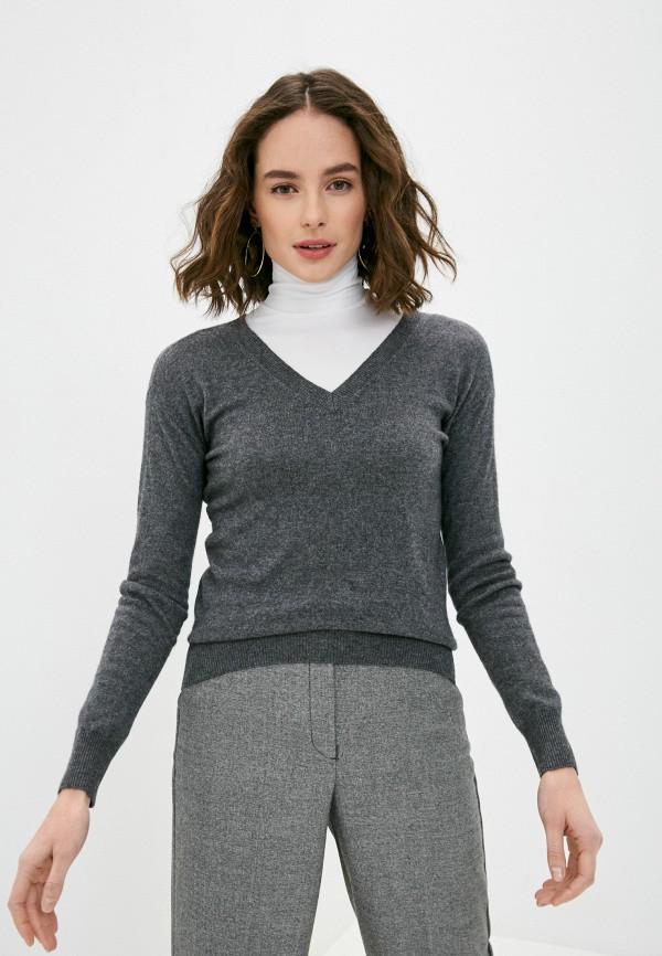 женский пуловер lusio, серый