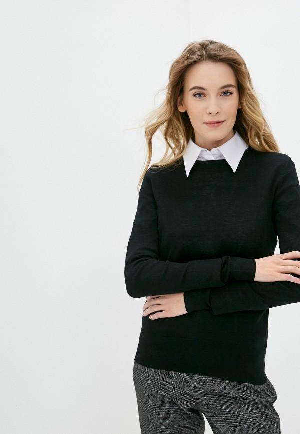 женский джемпер lusio, черный