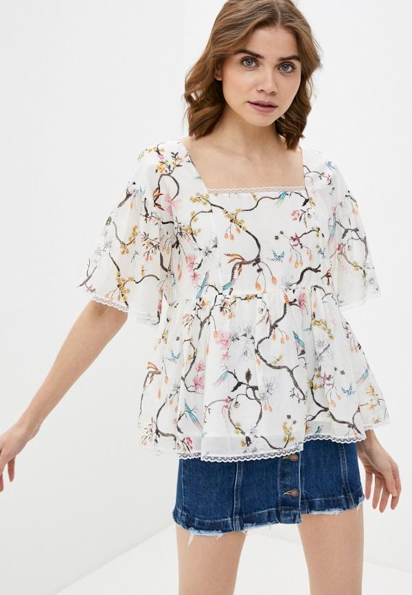 женская блузка lusio, белая