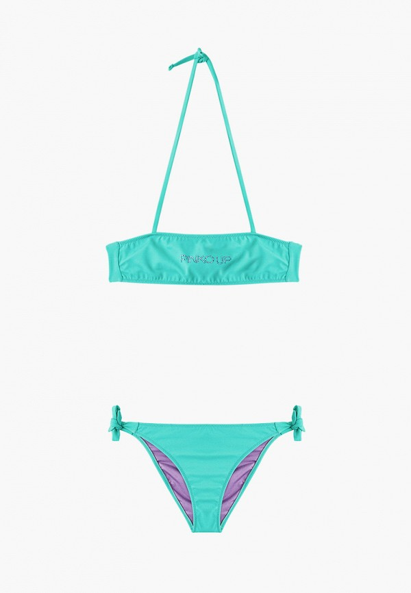 купальник pinko up для девочки, зеленый