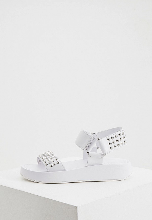 женские сандалии ash, белые