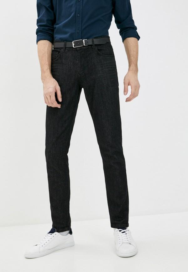 мужские зауженные джинсы rnt23, черные