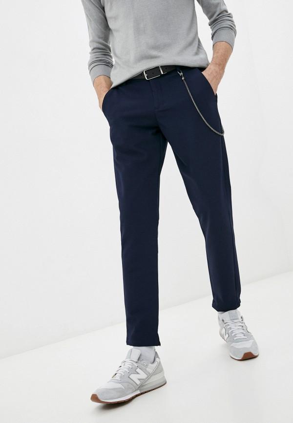 мужские зауженные брюки rnt23, синие
