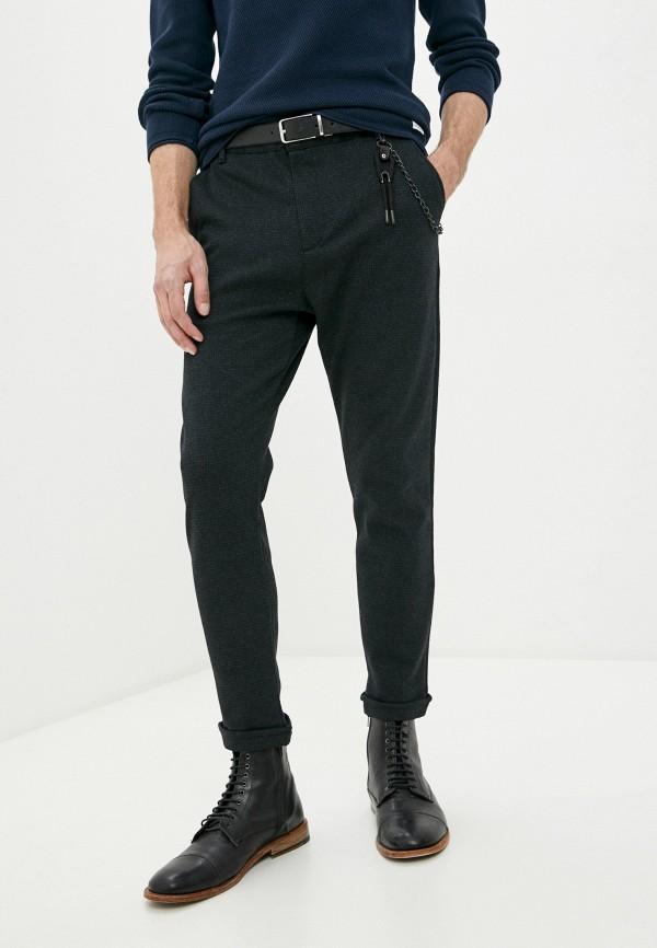 мужские зауженные брюки rnt23, серые