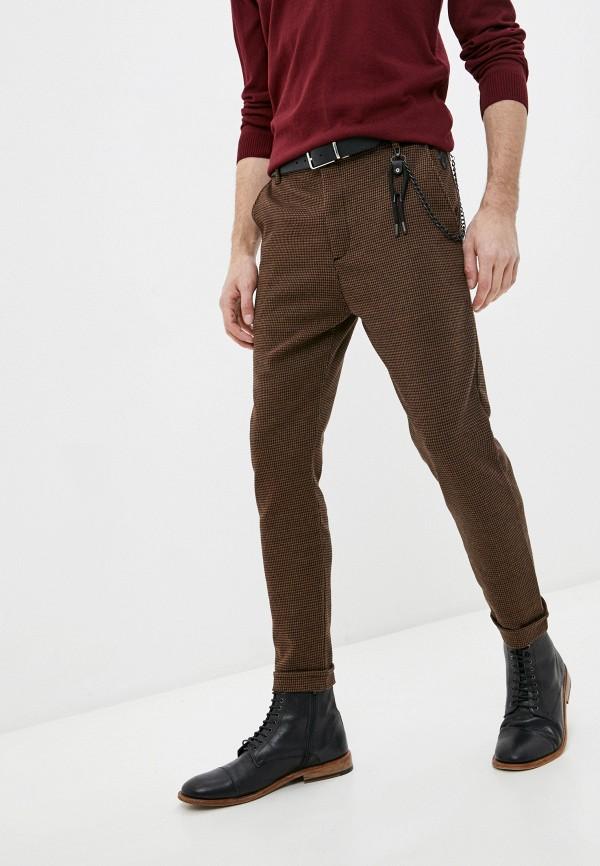 мужские повседневные брюки rnt23, коричневые