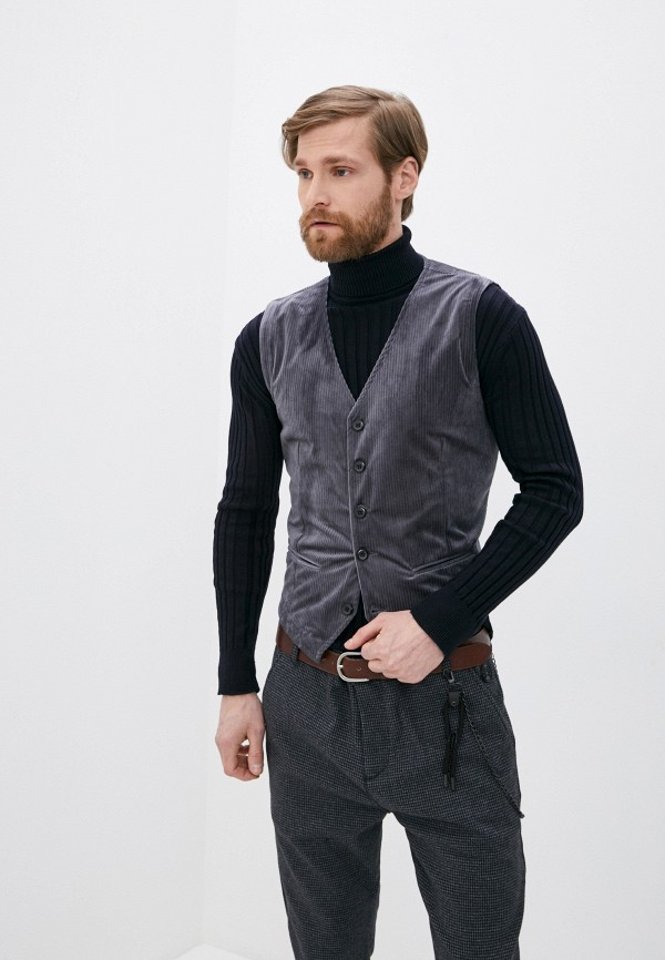 мужской жилет rnt23, серый