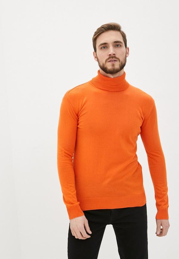 мужская водолазка rnt23, оранжевая