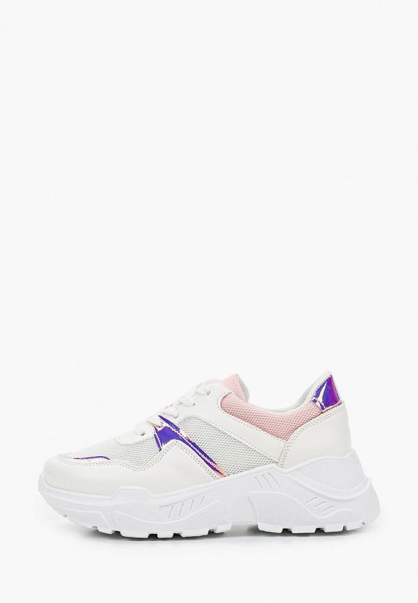 женские низкие кроссовки just couture, белые