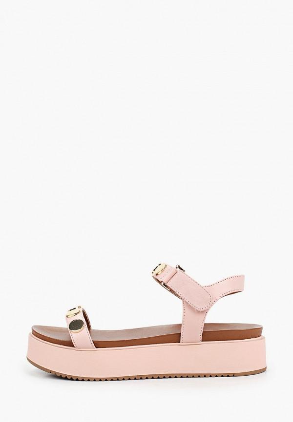 женские сандалии inuovo, розовые