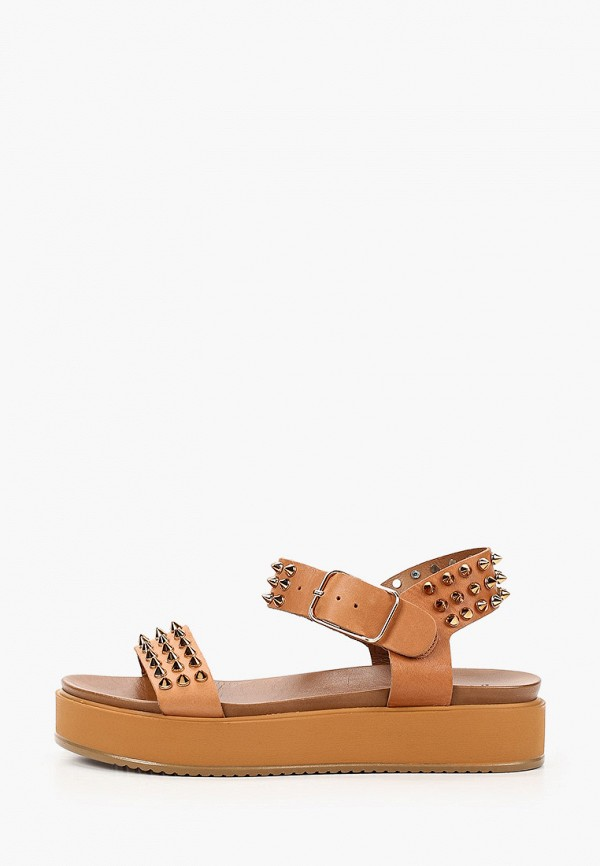 женские сандалии inuovo, коричневые