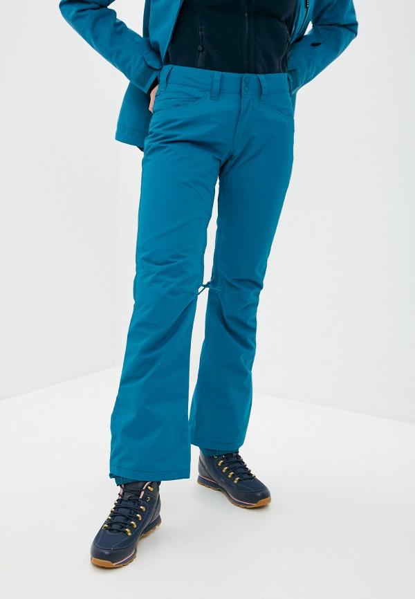 женские сноубордические брюки roxy, бирюзовые
