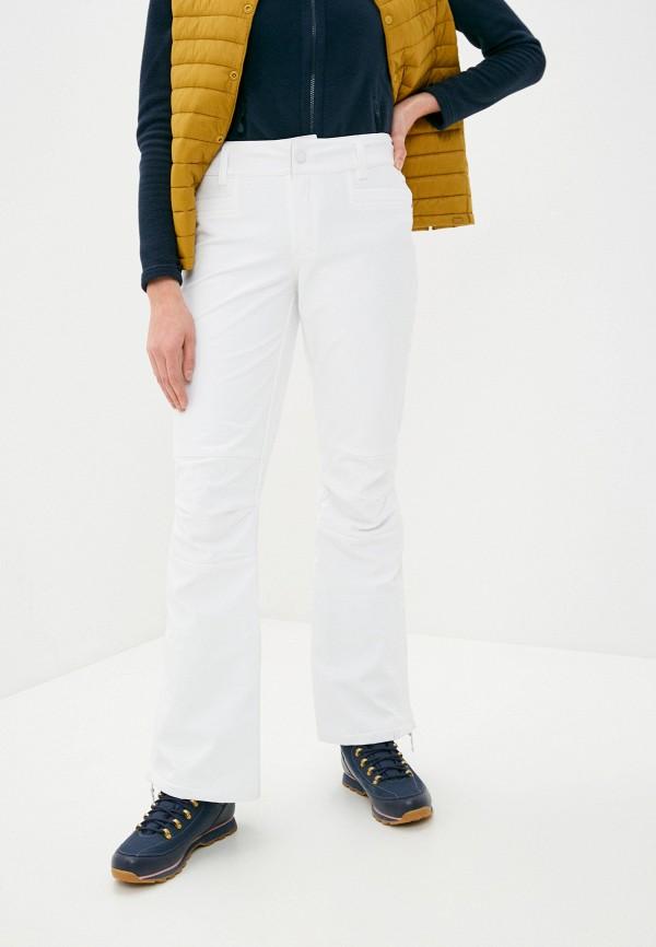 женские сноубордические брюки roxy, белые